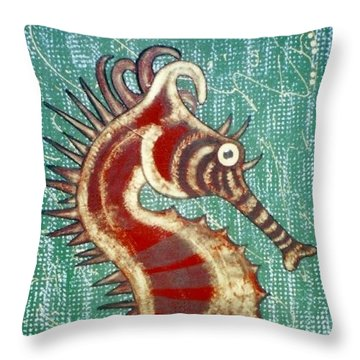 Shehorse Throw Pillow