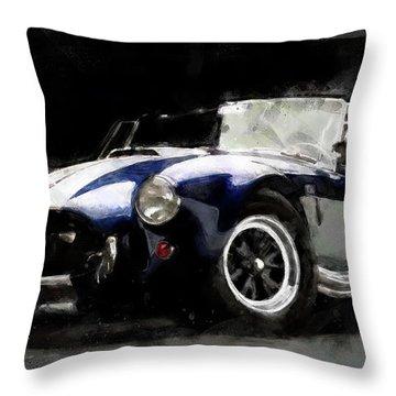 Shelby Cobra - 07 Throw Pillow