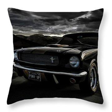 Shelby Gt350h Rent-a-racer Throw Pillow