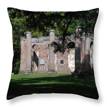 Sheldon Church 7 Throw Pillow by Gordon Mooneyhan