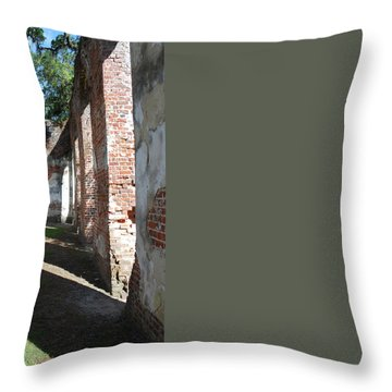 Sheldon Church 8 Throw Pillow by Gordon Mooneyhan