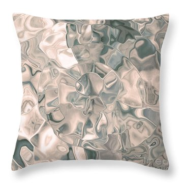 Shell Abstract Throw Pillow