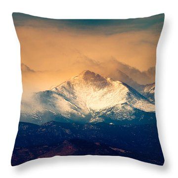 She'll Be Coming Around The Mountain Throw Pillow by James BO  Insogna
