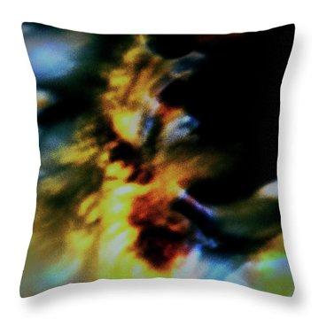 Shell Dancing Throw Pillow by Gina O'Brien