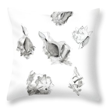 Hermit Crab Throw Pillows