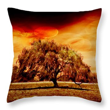 Country Scenes Throw Pillows