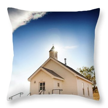Shelter From The Storm Throw Pillow