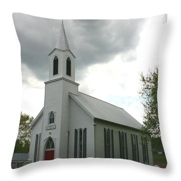 Shelter In A Time Of Storm Throw Pillow by David Dunham