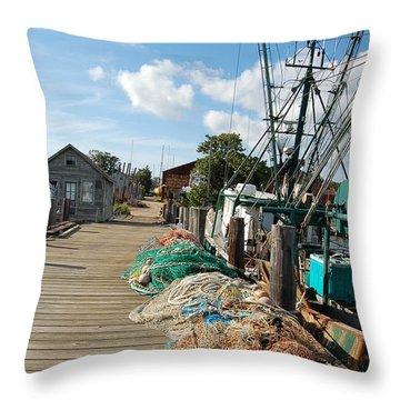 Shelter Island Throw Pillow