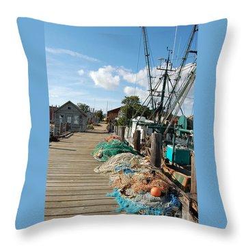 Shelter Island Throw Pillow