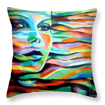 Sheltered By The Wind Throw Pillow