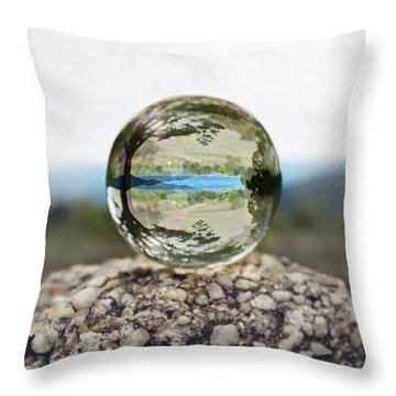 Throw Pillow featuring the photograph Shenandoah by Sue Collura
