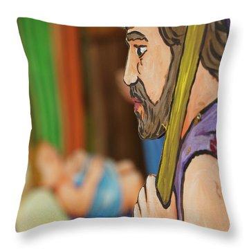 Shepherd Throw Pillow by Gaspar Avila