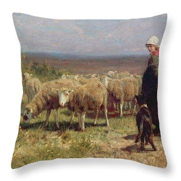 Herding Dog Throw Pillows