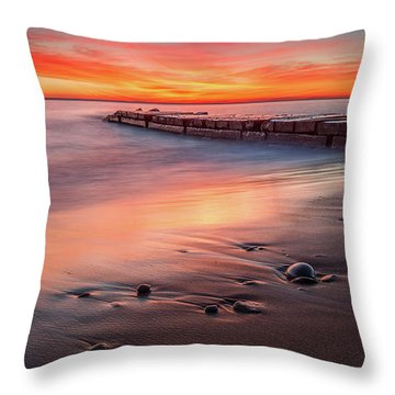 Sheridan Sunrise Throw Pillow