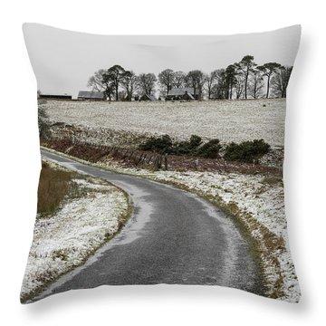 Sheriffmuir Road Throw Pillow