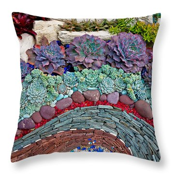 Sherman Gardens Study 45 Throw Pillow