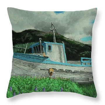 Sherry D Throw Pillow