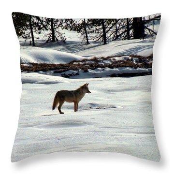 She's A Fox Throw Pillow