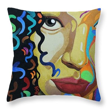 She's Complicated Throw Pillow