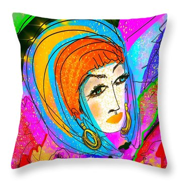 She's Got What   Personality Throw Pillow
