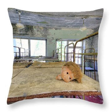 She's Lost Her Head Again Throw Pillow