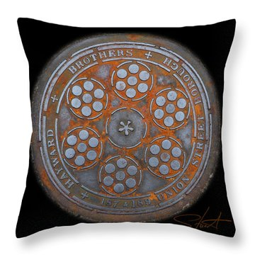 Shield 2 Throw Pillow