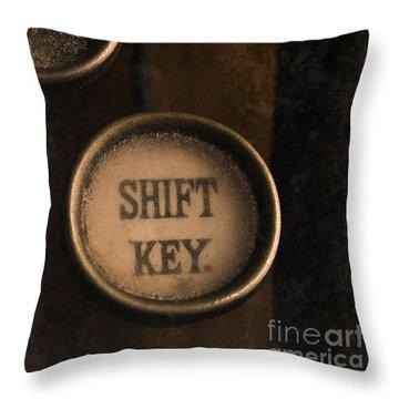 Shift Key Throw Pillow