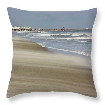 Shifting Sands Throw Pillow