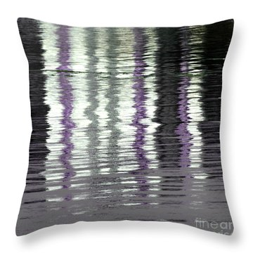 Throw Pillow featuring the photograph Shimmer by Wendy Wilton