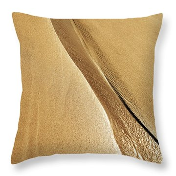 Shimmering Sand Throw Pillow by Brandon Tabiolo - Printscapes