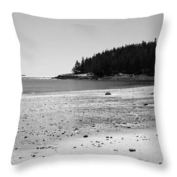 Throw Pillow featuring the photograph Shimmering Sand by Corinne Rhode