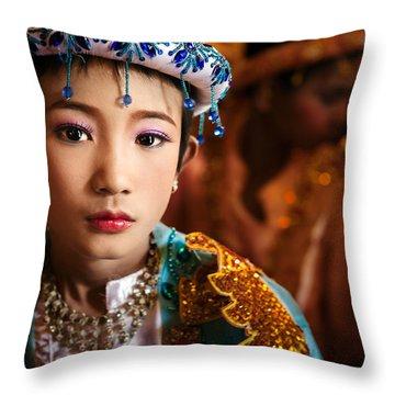 Shinbyu Throw Pillow