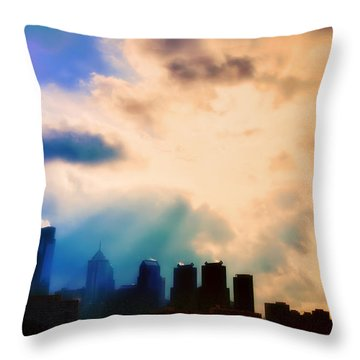 Shine A Light Throw Pillow by Bill Cannon