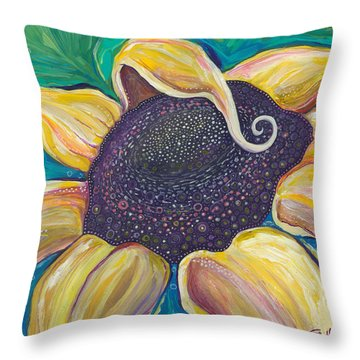 Shine Bright Throw Pillow by Tanielle Childers