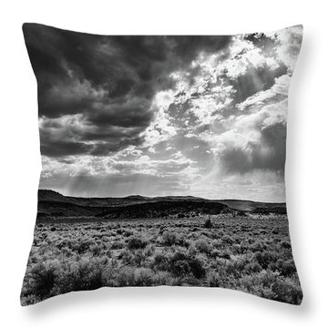 Shine Down On Me Throw Pillow