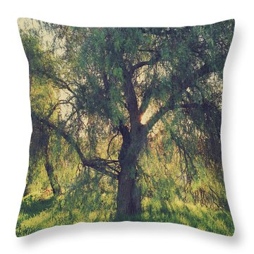 Throw Pillow featuring the photograph Shine Your Light by Laurie Search
