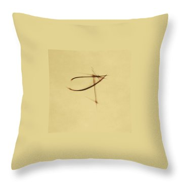 Shining Glyph #04 Throw Pillow
