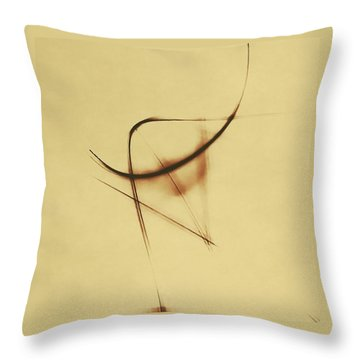 Shining Glyph #05 Throw Pillow