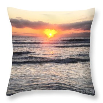 Throw Pillow featuring the photograph Radiance by LeeAnn Kendall