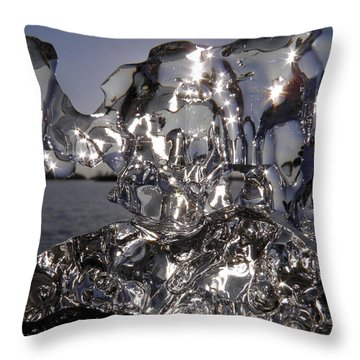 Throw Pillow featuring the photograph Shining Stars by Sami Tiainen