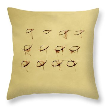 Shining  Twelve Throw Pillow