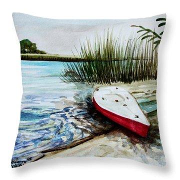 Ship Ahoy Throw Pillow