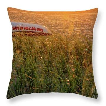 Ship Bottom Beach Patrol Throw Pillow