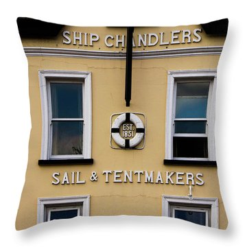 Ship Chandlers Throw Pillow