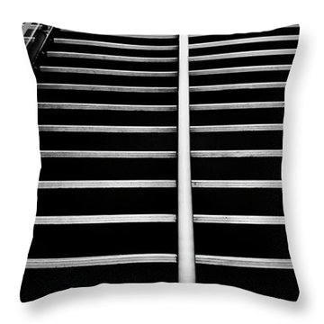 Ship Stairs Throw Pillow