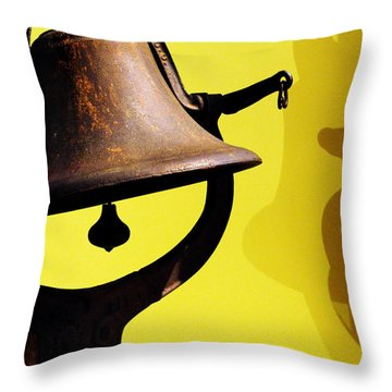 Ship's Bell Throw Pillow
