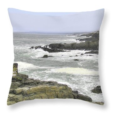 Shipwrecked Throw Pillow