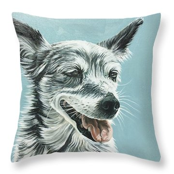 Shiv Throw Pillow