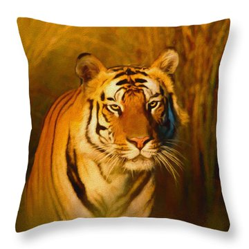 Shiva - Painting Throw Pillow